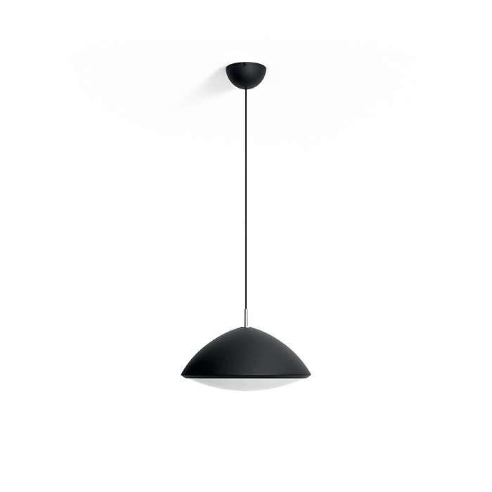 Czarna metalowa lampa wisząca Philips inStyle ARCH 40957/30/PN 1-3