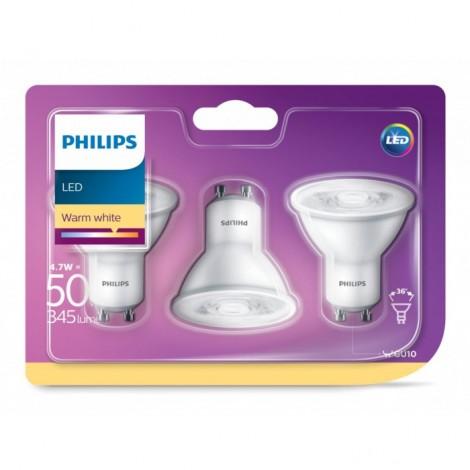 Żarówki LED Philips GU10 4,7w (50w)