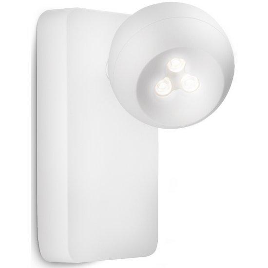 Biały Kinkiet spot LED Philips Universa 57945/31/16 regulowany